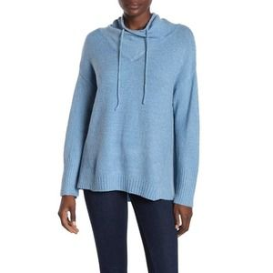 Philosophy Sweater Sz S Funnel Neck Pullover Top